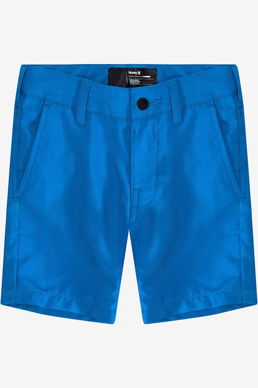 Toddler Boy's Four Pocket Short, Blue