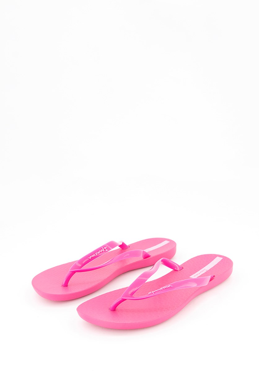 Women's Wave Slippers, Pink