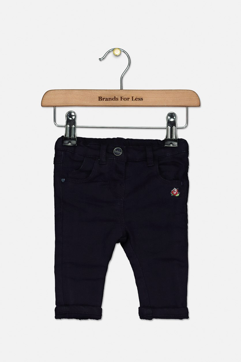 Toddlers Five Pockets Pants, Navy