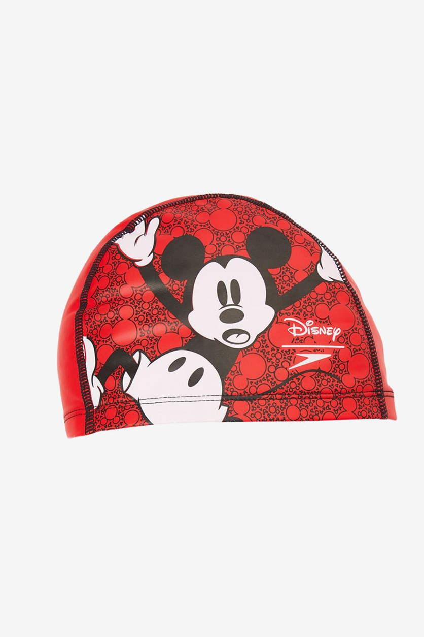 Junior Boy's Printed Pace Cap, Red/Black/White