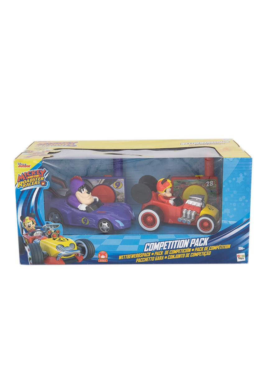 Mickey and the Roadster Racer Competition Pack, Purple/Red