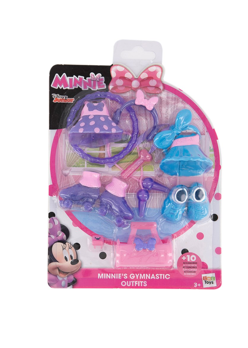 Minnies Gymnastic Outfit, Purple/Blue/Pink
