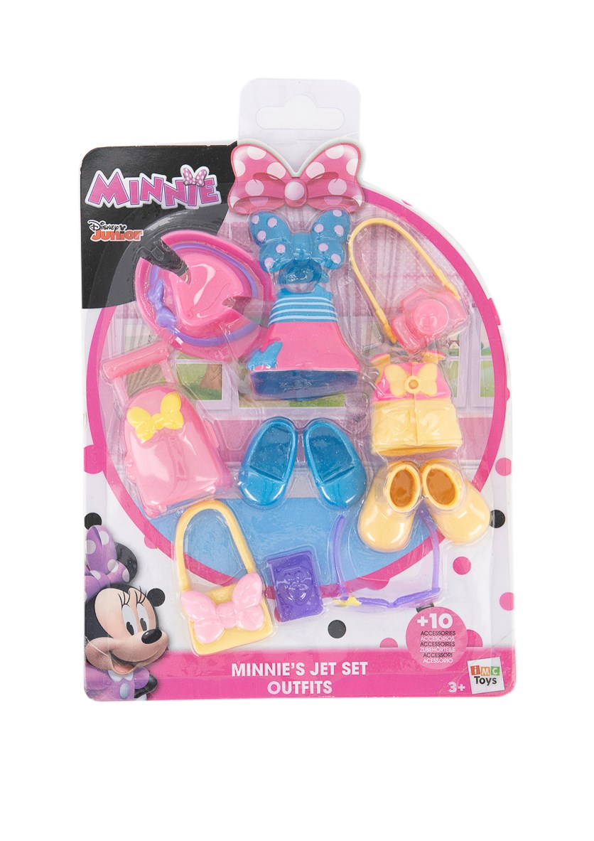 Minnie's Jet Set Outfit, Pink/Blue Combo
