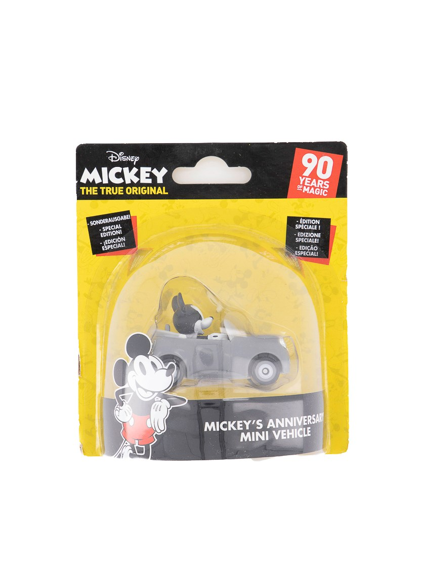 Disney Mickey Anniversary Mini Vehicle, Black/Grey