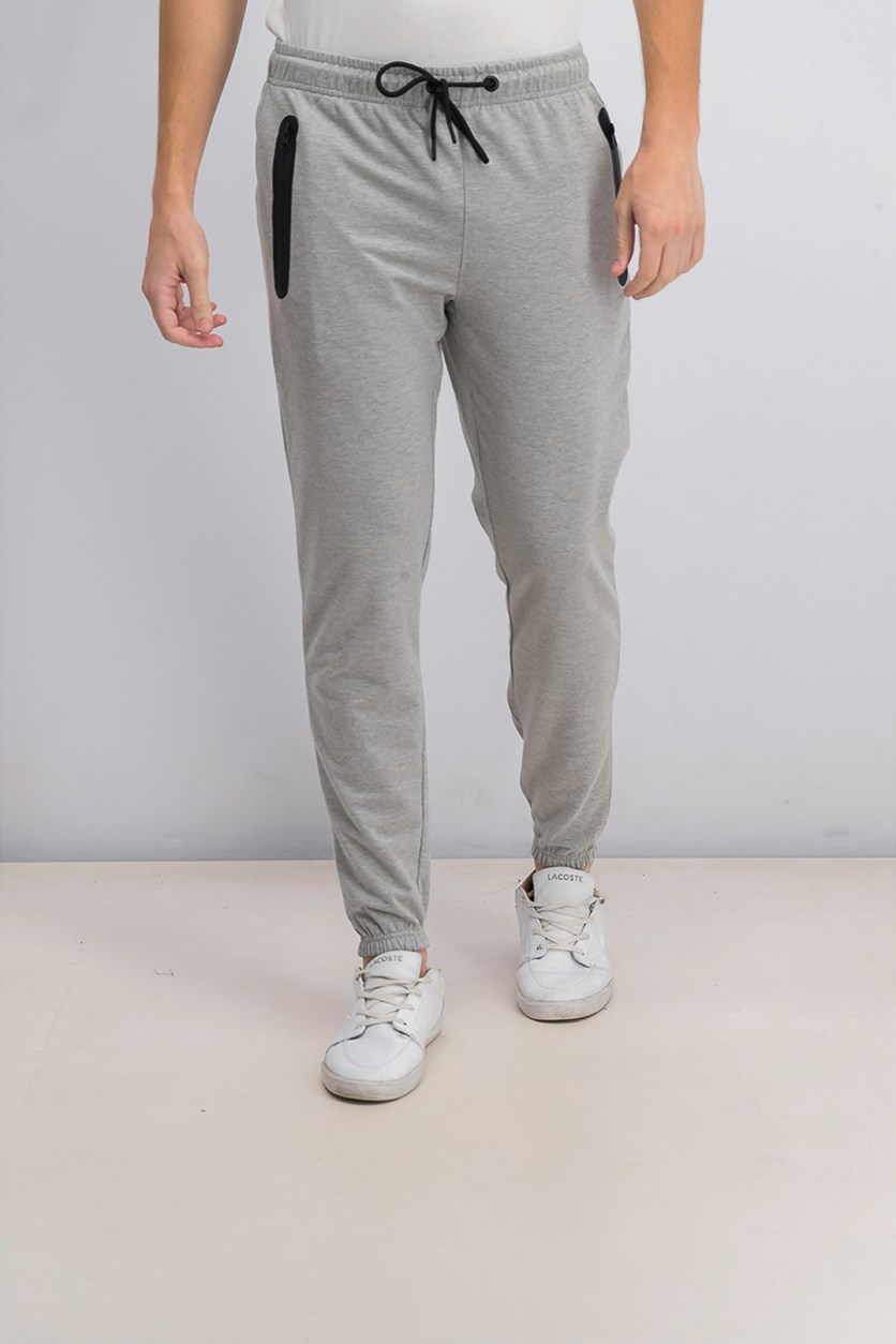 Men's French Terry Jogger Pants, Melange