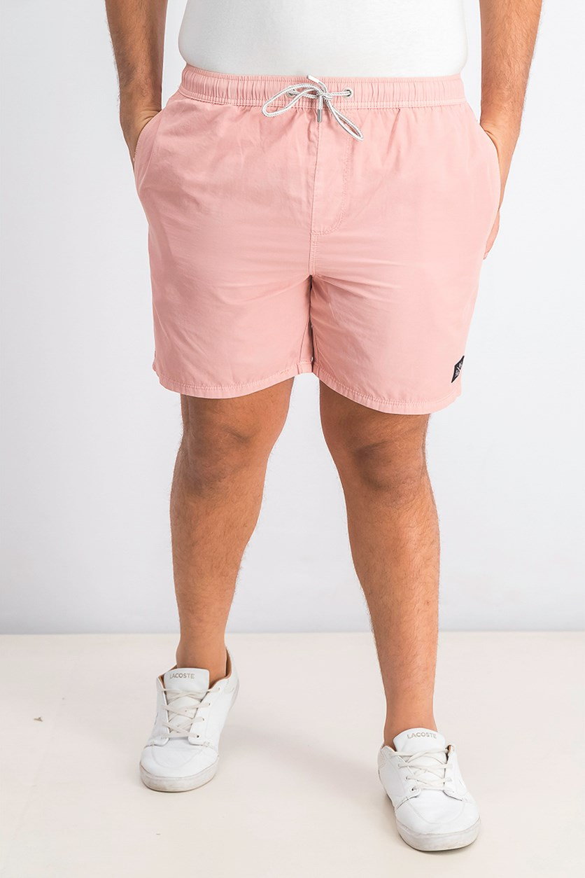 Men's Lightweight Shorts, Faded Pink