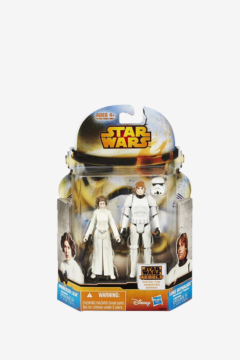 Mission Series Luke and Prince Leia, White