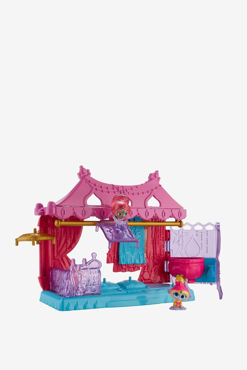 Shimmer And Shine Teenie Genies Magic Carpet Shop Playset, Pink Combo