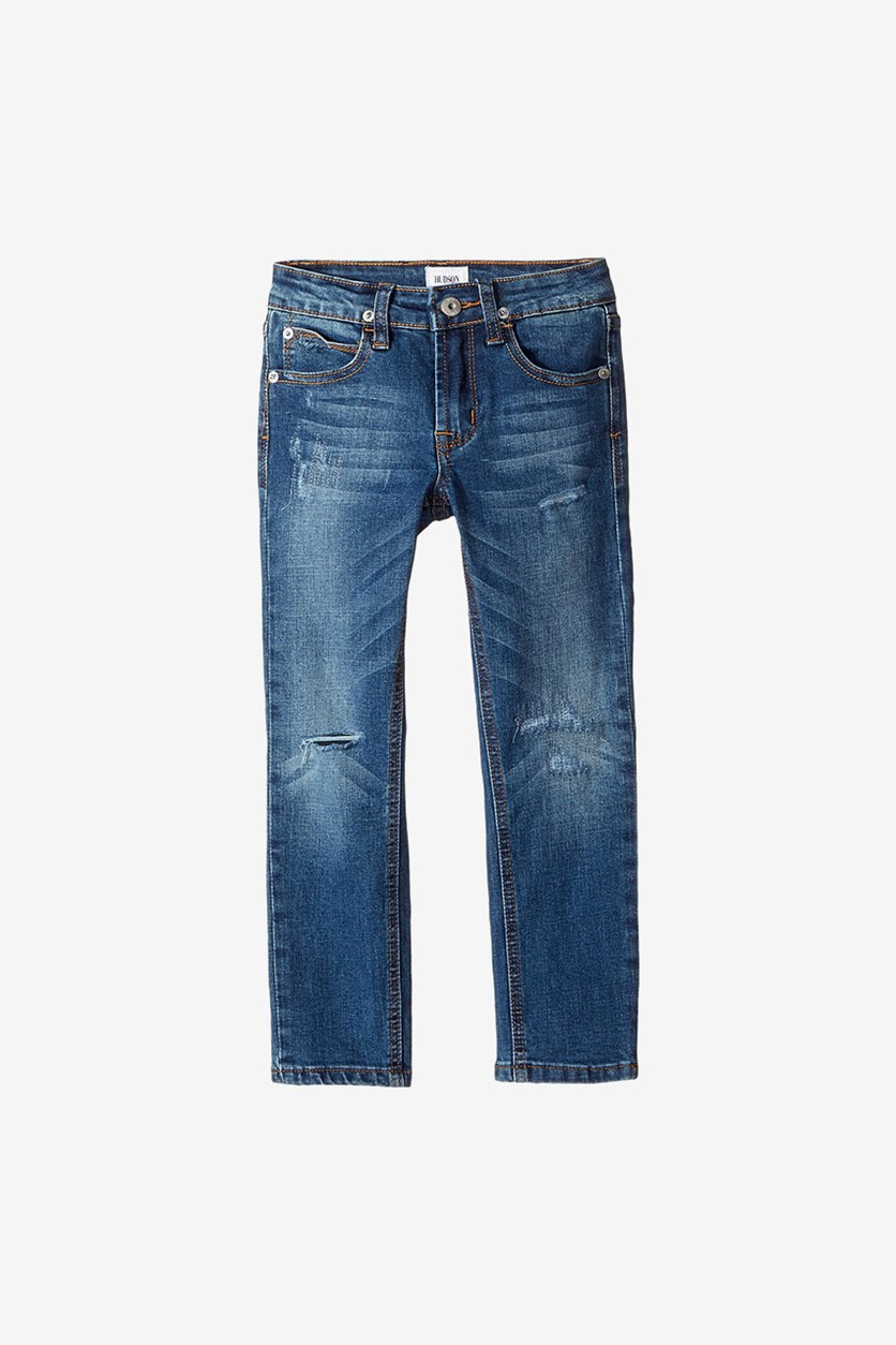 Little Boys Jagger Straight Leg Jeans, Cielo Blue