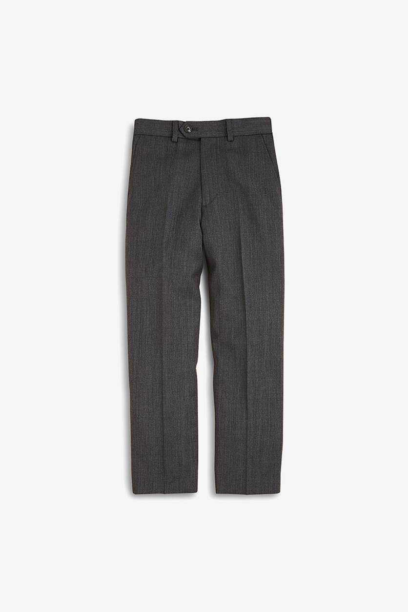 Boys' Wool Trousers Pants, Gray