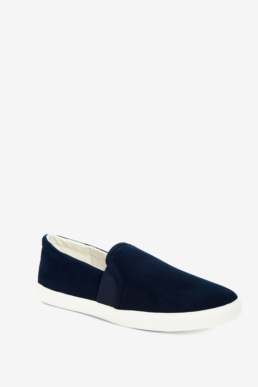 Women's Louiza Perforated Slip-on Sneakers, Navy