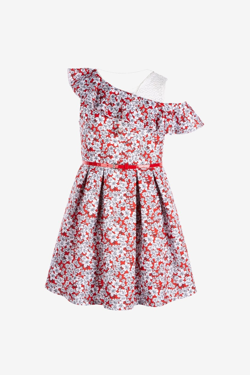Girls River Island Dress, Red