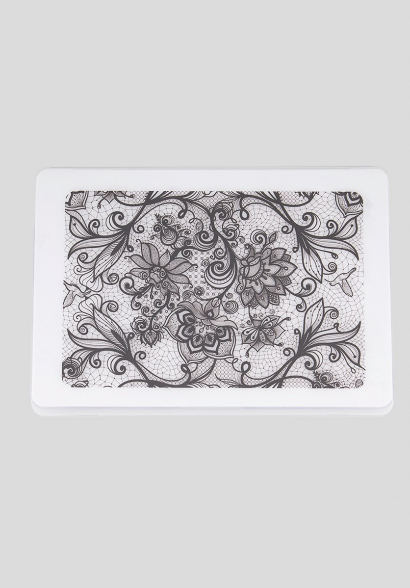 Hard Frosted Henna Case, Transparent