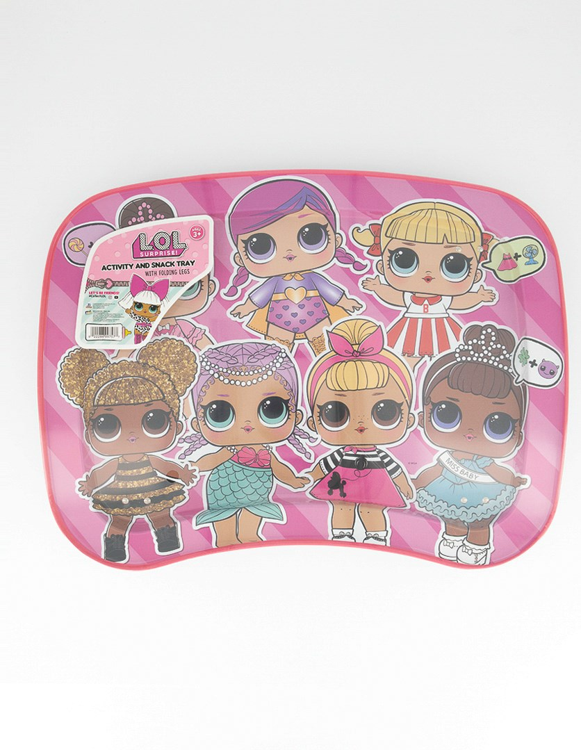 L.O.L Surprise! Activity and Snack Tray, Pink