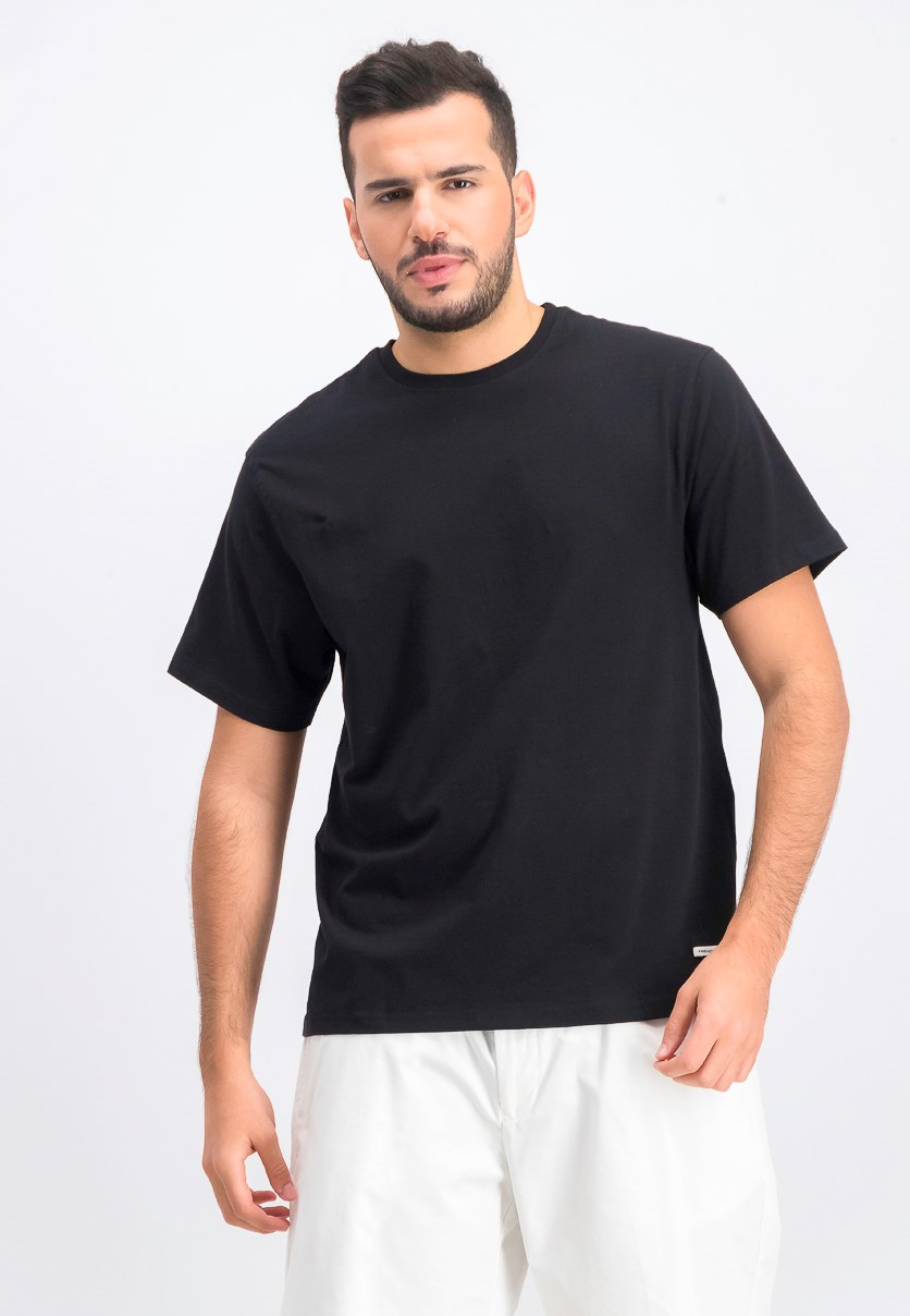 Men's Crewneck T-Shirt, Black
