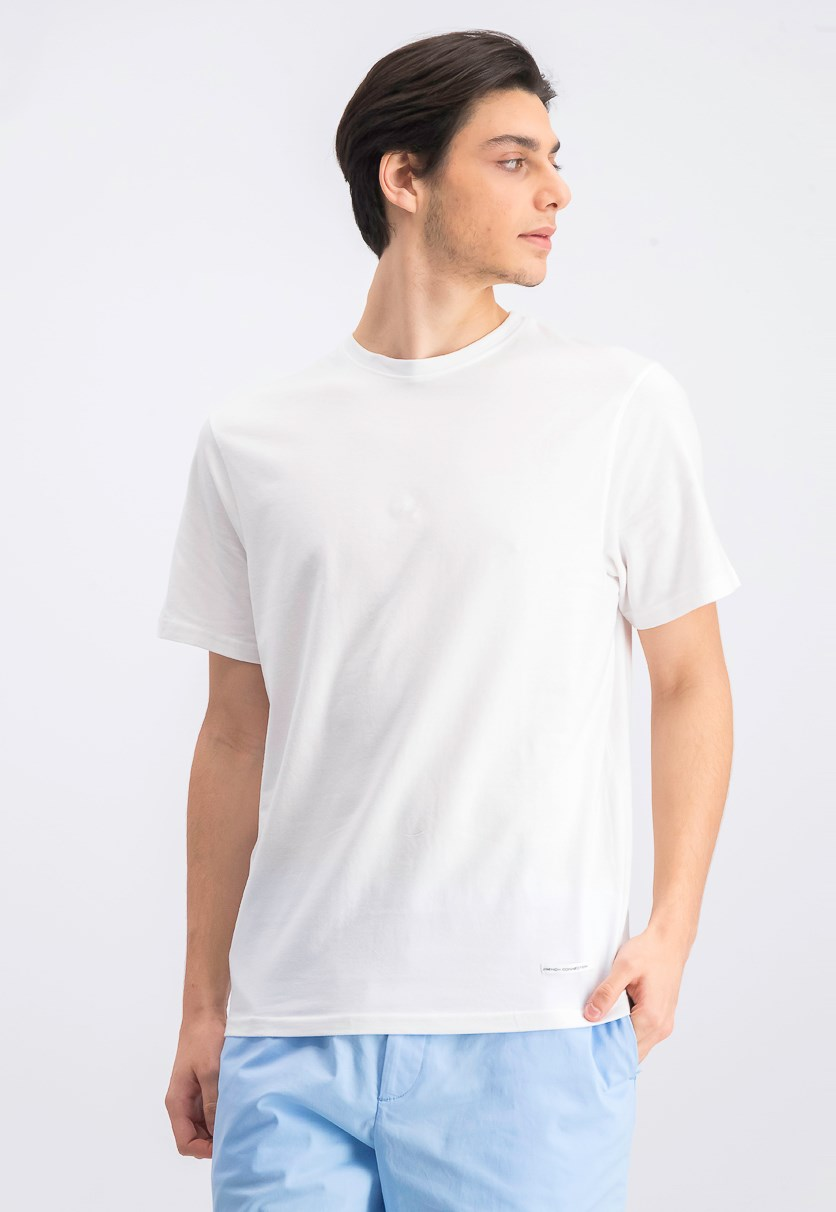Men's Crewneck T-Shirt, White