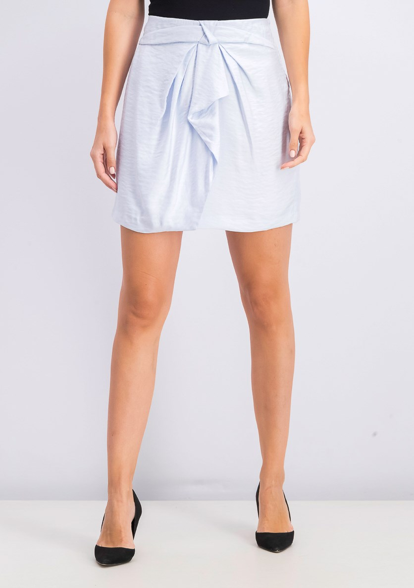 Women's Mini Skirt, Light Blue