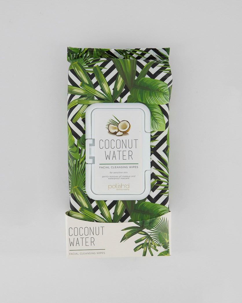 Coconut Water Wipes, Green Combo