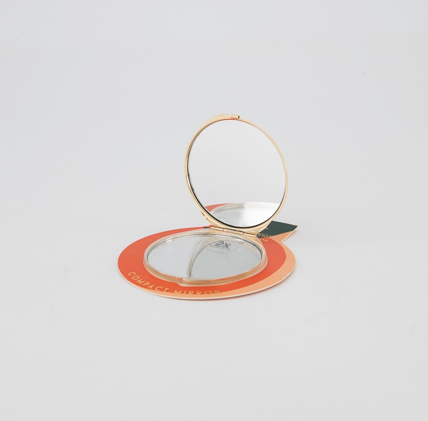 Your're Sweet Round Compact Mirror, Red Combo