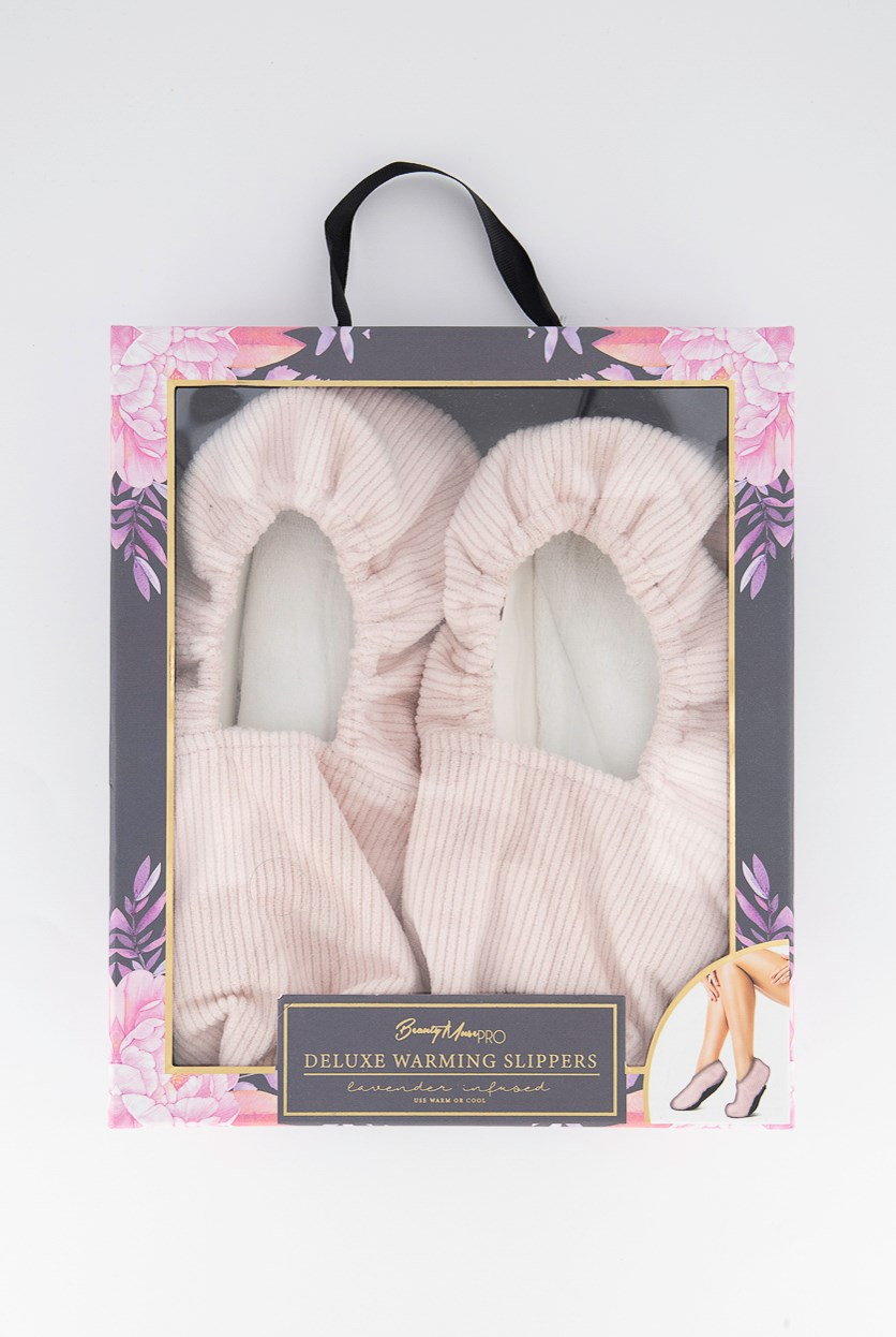Deluxe Warming Slippers, Pink