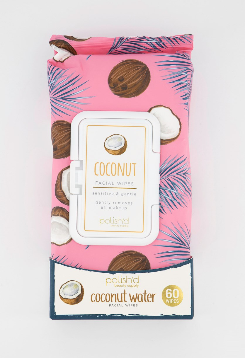 Coconut Water Wipes, Pink Combo