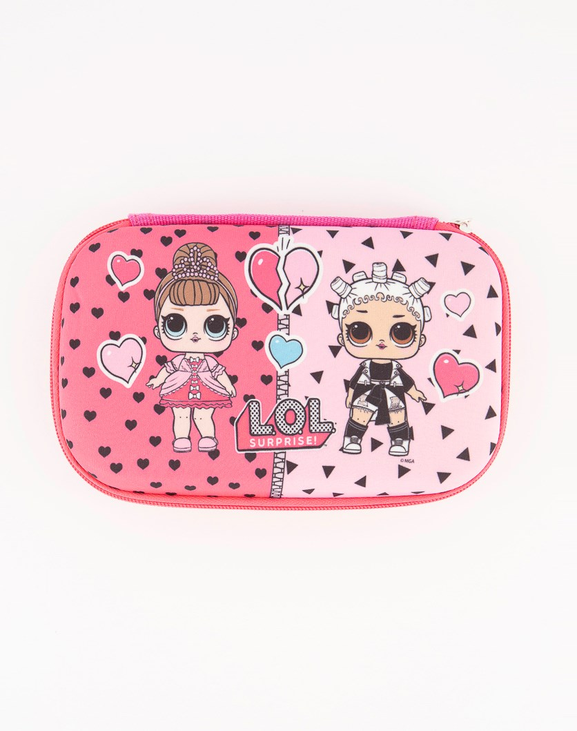 Molded Pencil Case, Pink