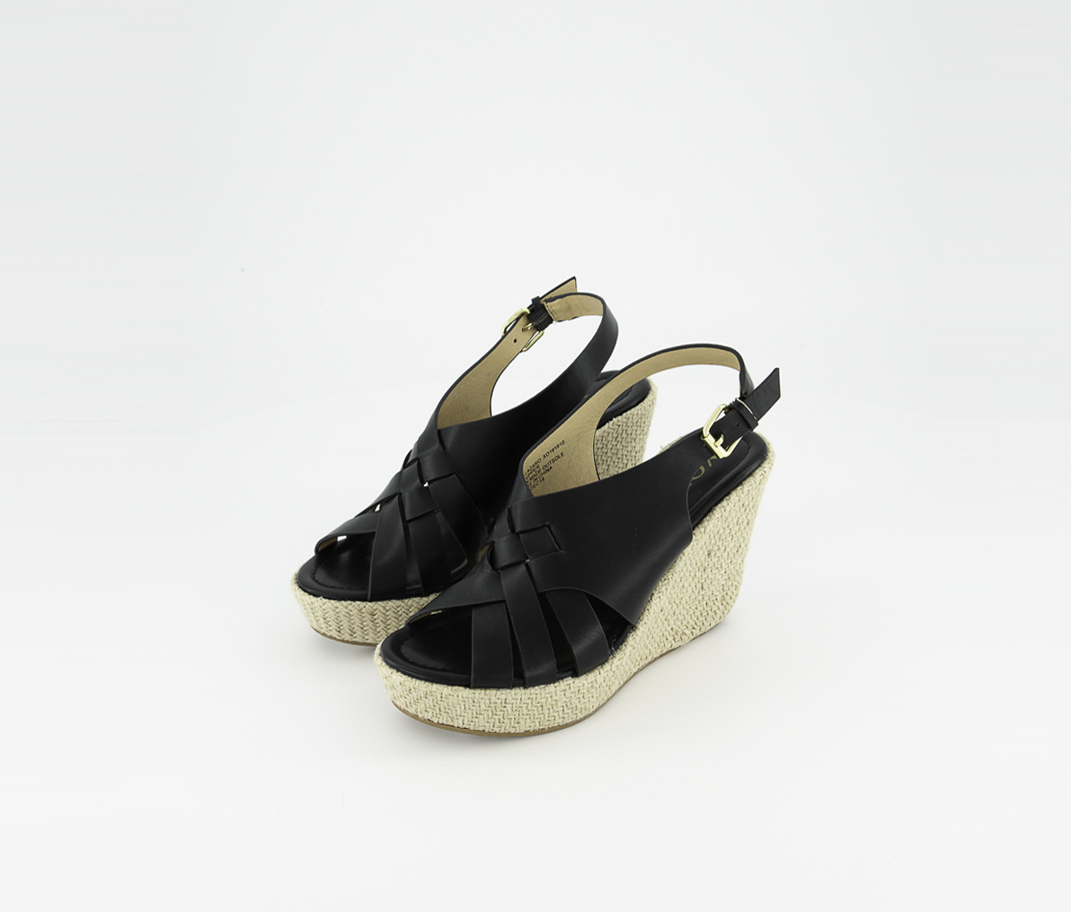 Women's Lazaro Platform Wedge Sandals, Black