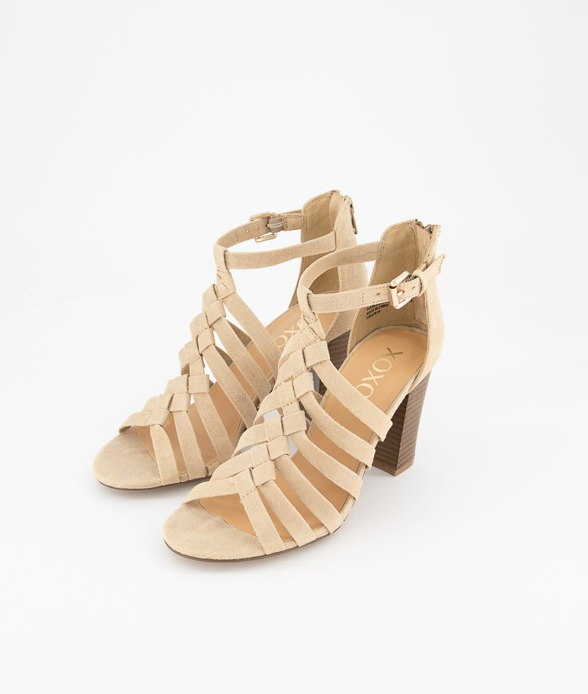 Womens Basset Strappy Sandals, Sand
