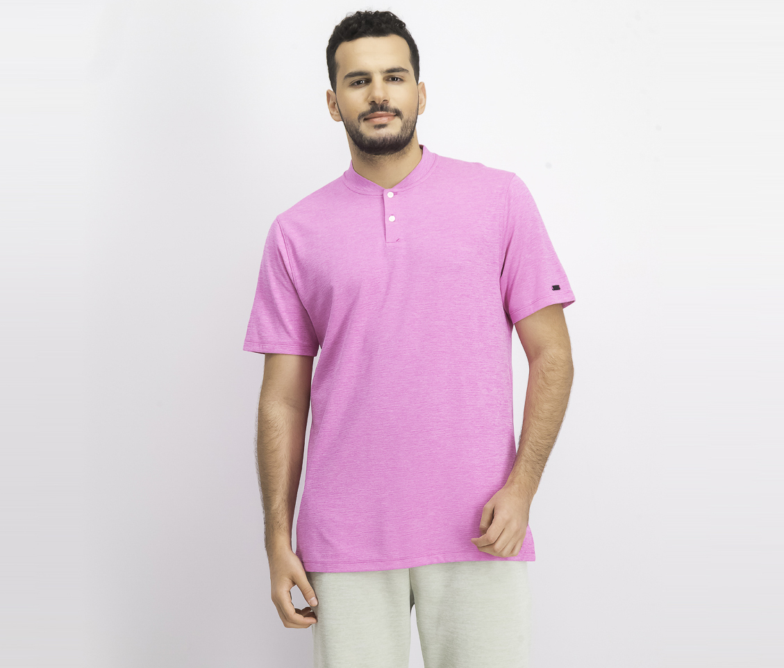 Men's Tiger Woods Aeroreact Solid Polo Shirt, Pink