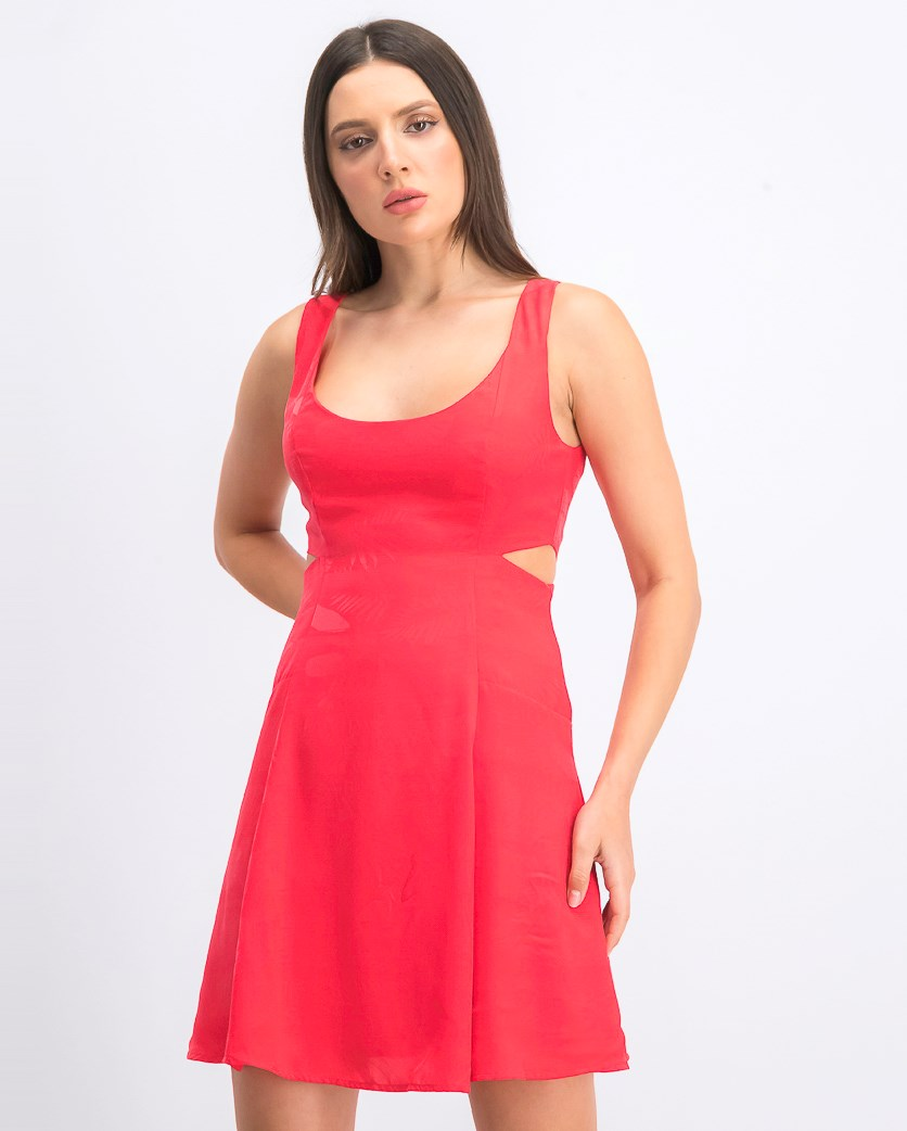 Womens Cut-Out Dress, Spiked Punch