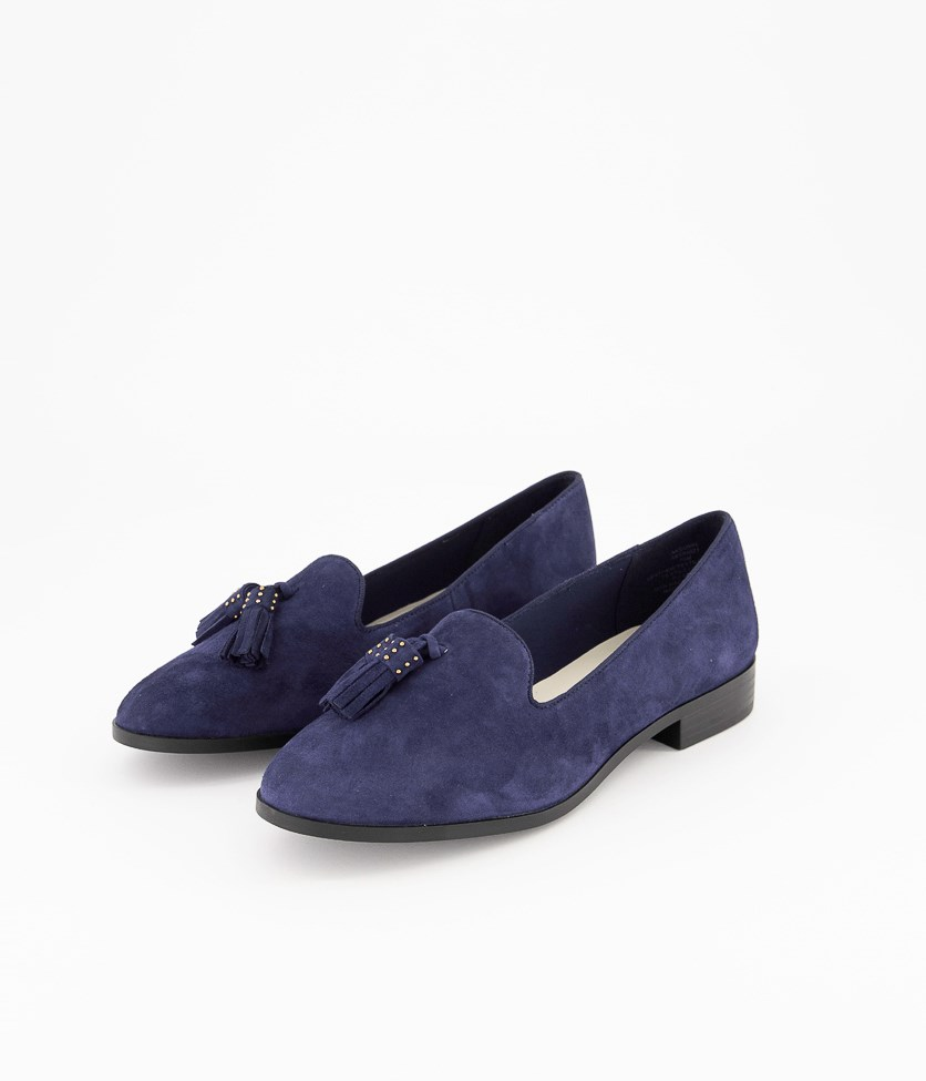 Womens Akduval Shoes, Navy