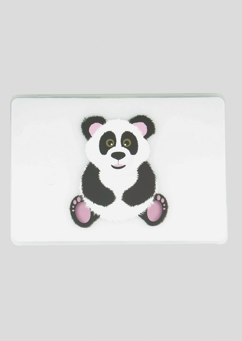 Hard Frosted Panda Case, Transparent