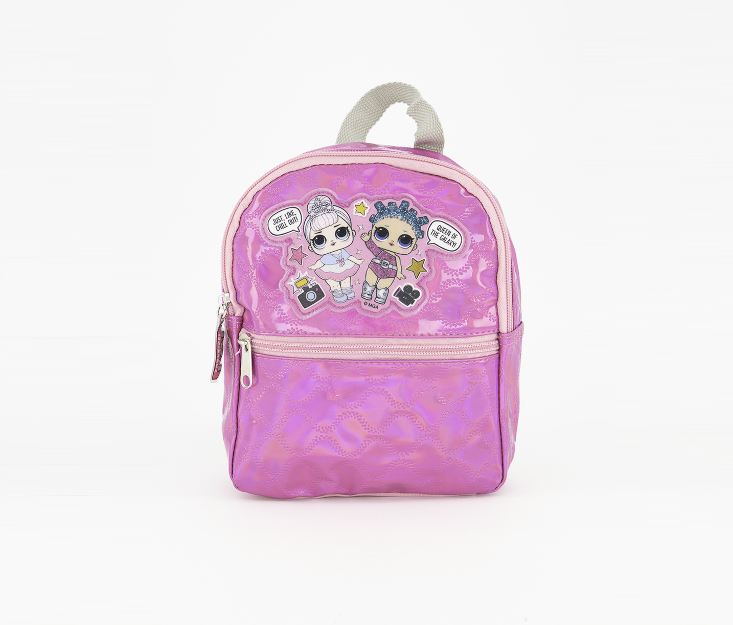 Kids Girls Mini Quilted Backpack, Pink
