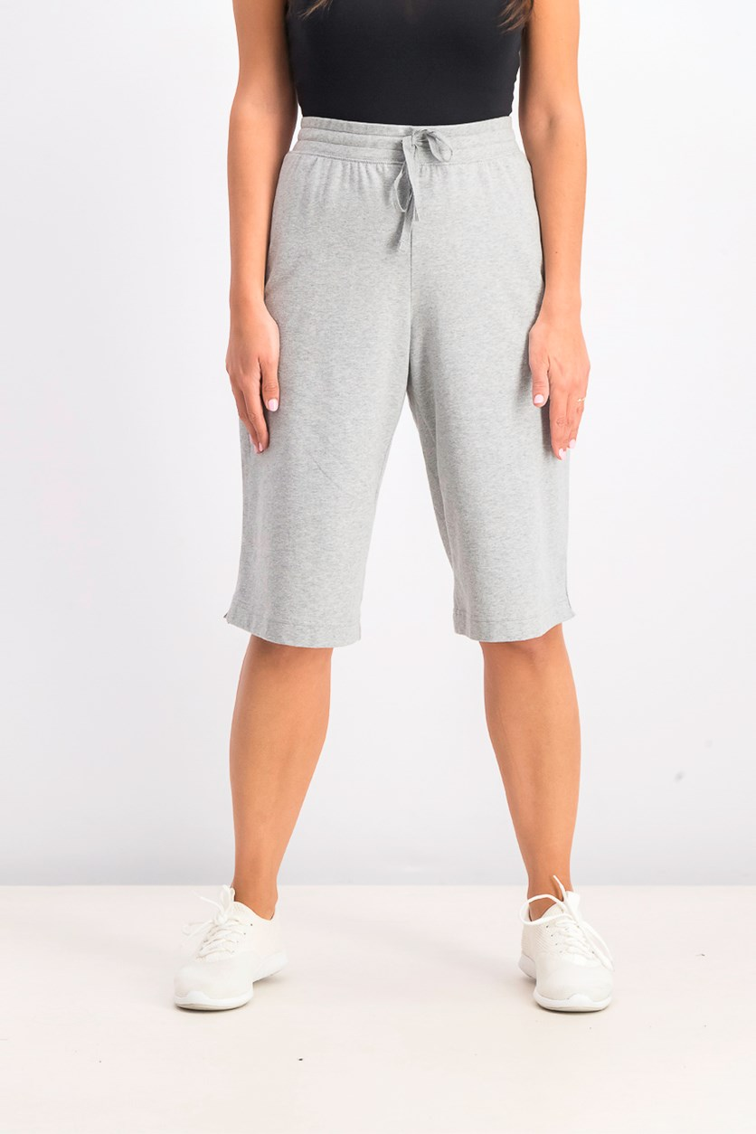 Women's Pull-On Knit Skimmers, Smoke Grey Heather