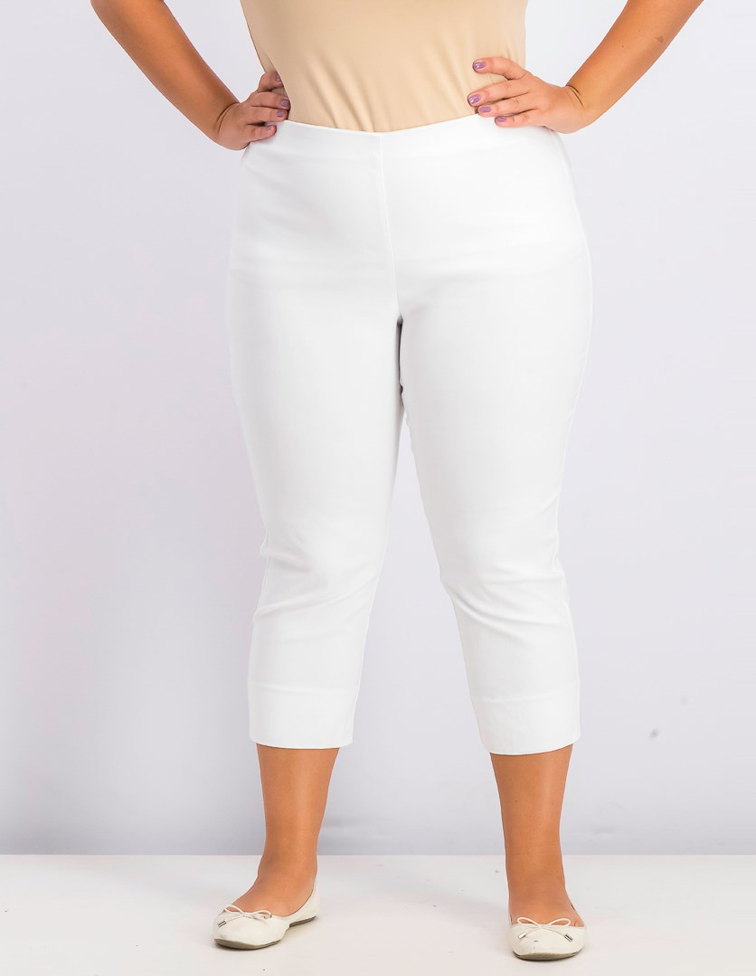 Women's Chelsea Pull-on Tummy-Control Pants, Bright White