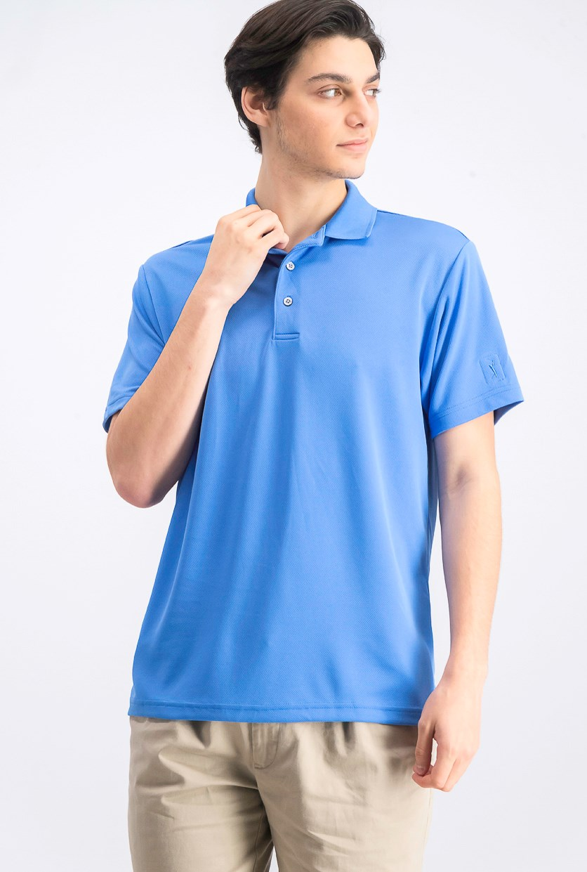 Men's Airflux Solid Polo, Regatta