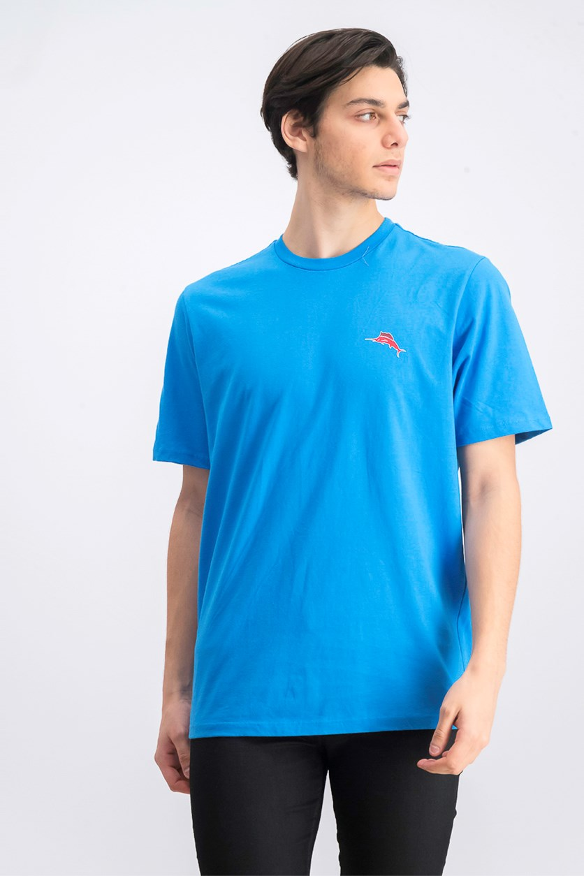 Men's Finish What You Stouted Tee, Download Blue