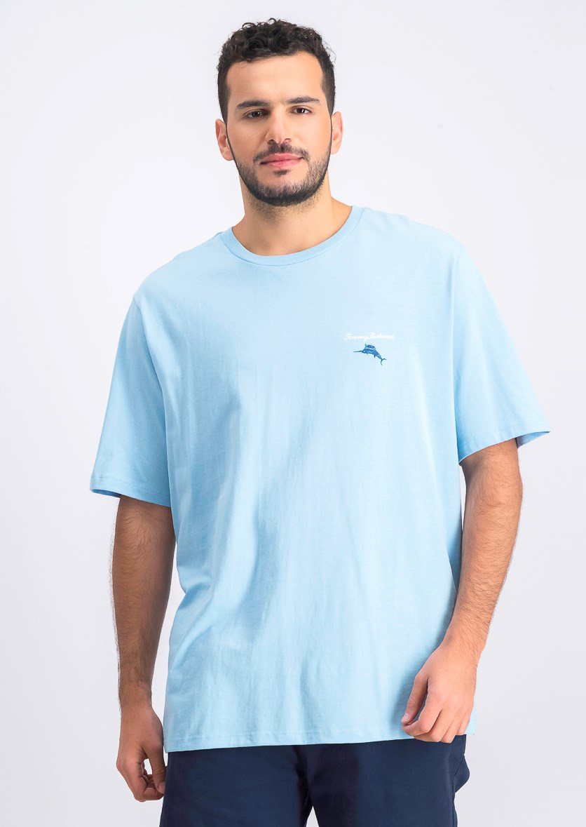 Men's Call Me Old Fashioned T-Shirt, Aqua Ice