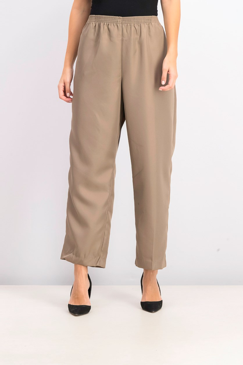 Women's Pull-on Pants, Brass Iron