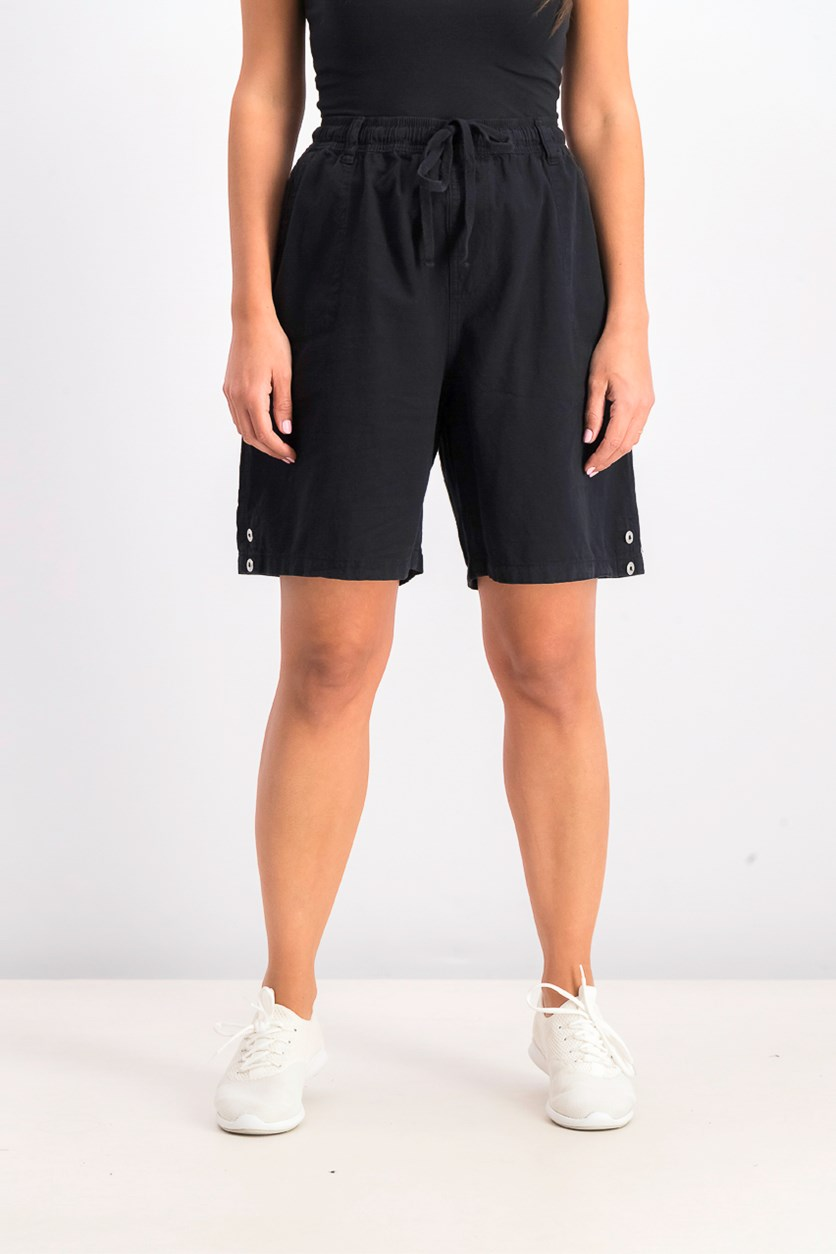 Women's Pull On Short, Black