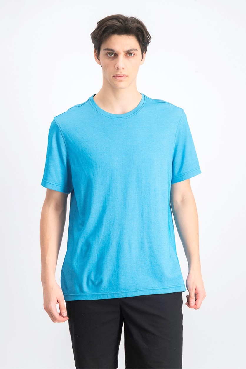 Men's Supima Blend Crewneck Short-Sleeve T-Shirt,Teal