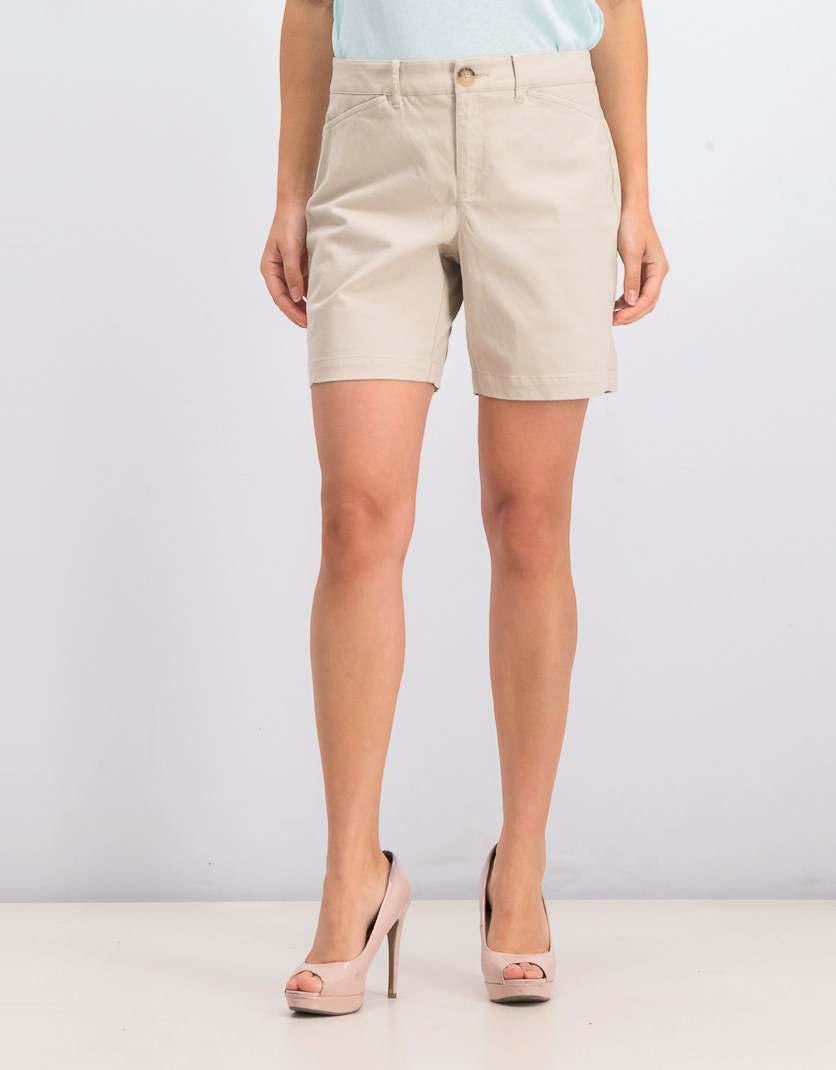 Women's Relaxed Shorts, Sugar Sand