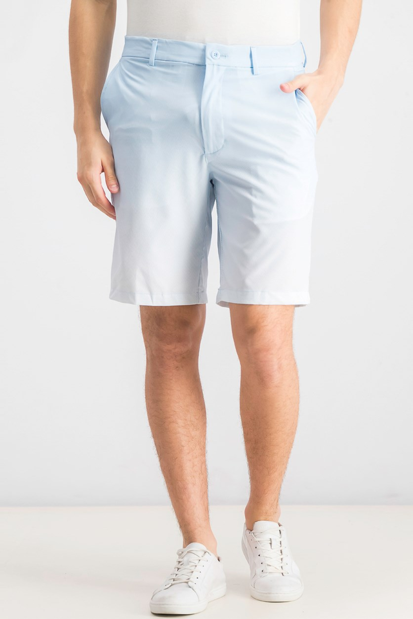 Men's Halftone Fade Shorts, Pale Spring