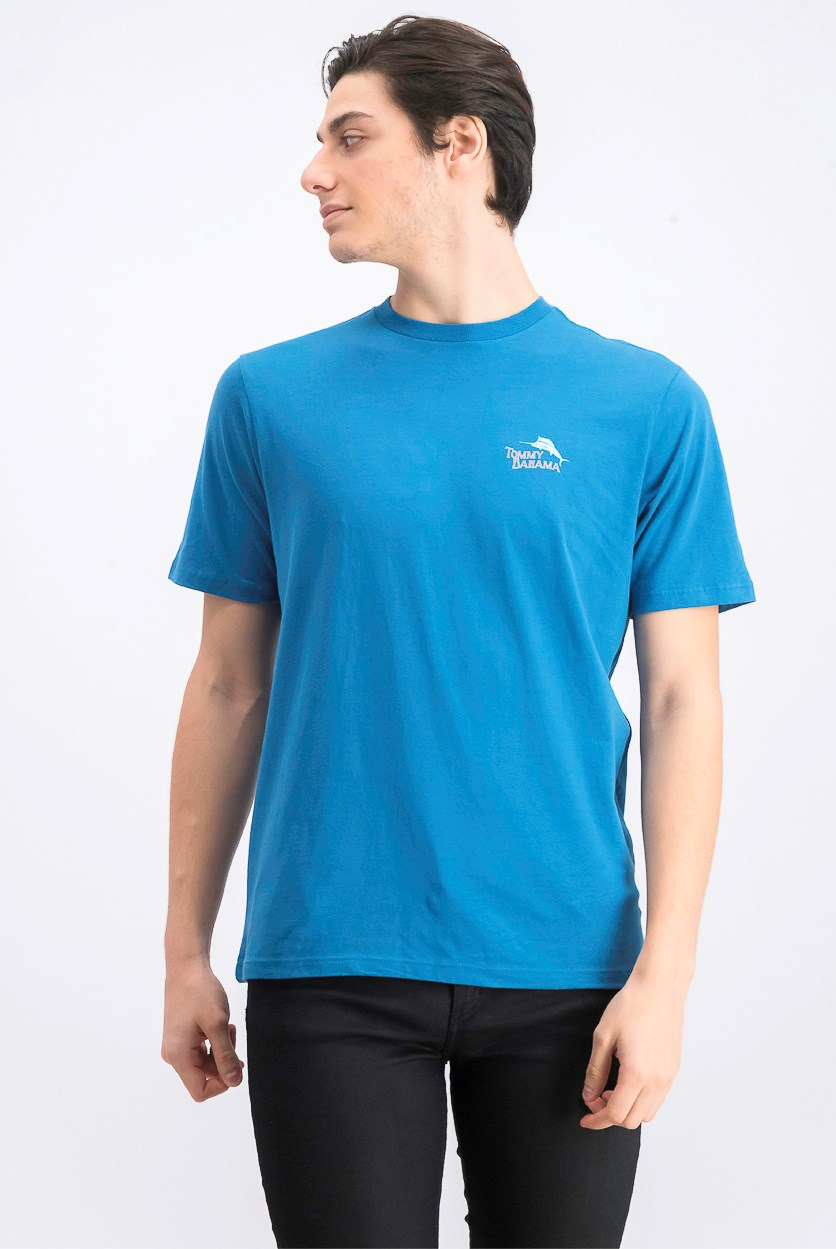 Men's Salt Shaker T-Shirt, Blue Allure