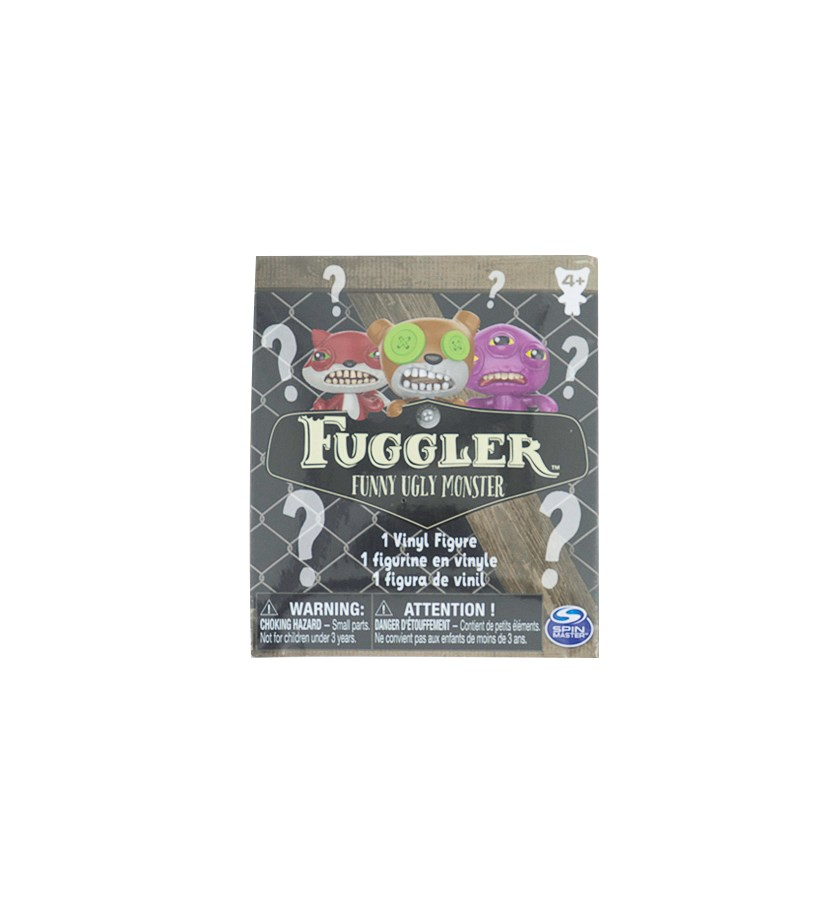 Fuggler Mystery Monster Figure, Black Combo