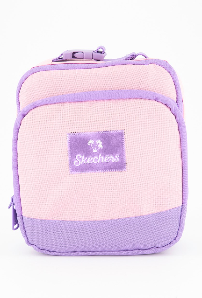 Women's Travel Lunch Bag, Pink/Purple