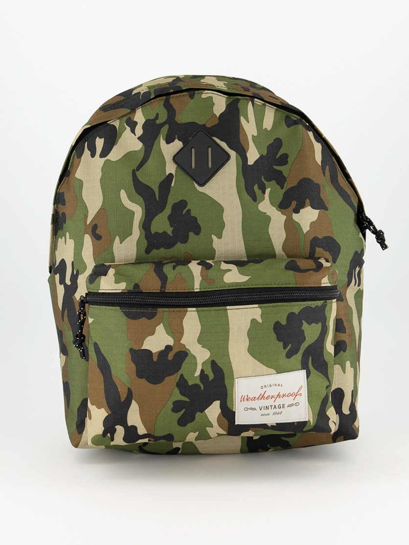 Men's Camouflage Backpack, Olive Combo