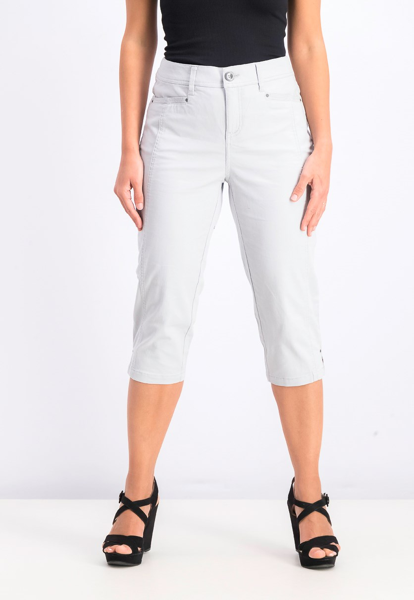 Women's Petite Capri Pants, Misty Harbor