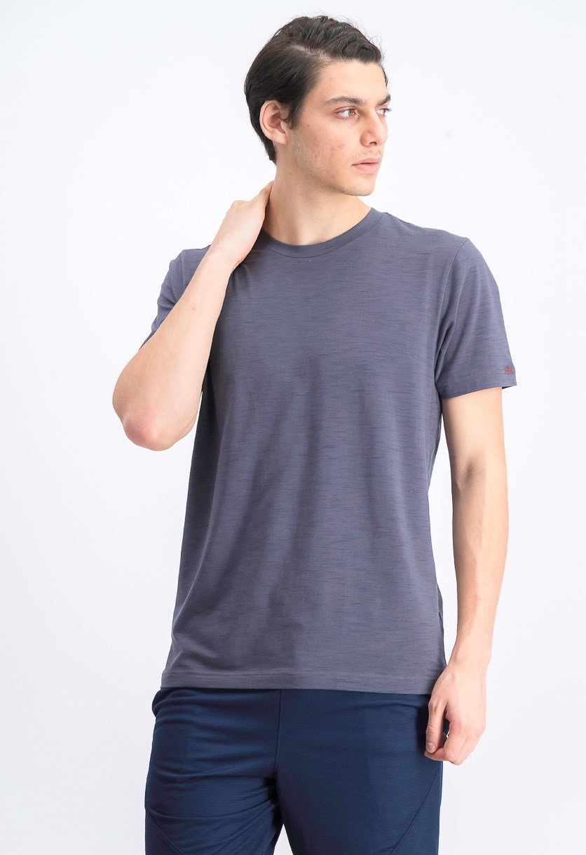 Men's Crew Neck T-shirt, Asphalt