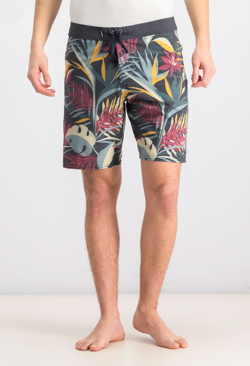 Men's Hyperfreak Patron Boardshort, Navy/Charcoal